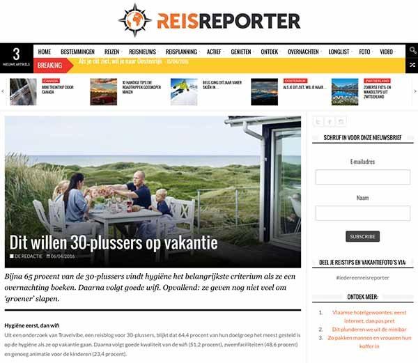 Travelvibe op Reisreporter