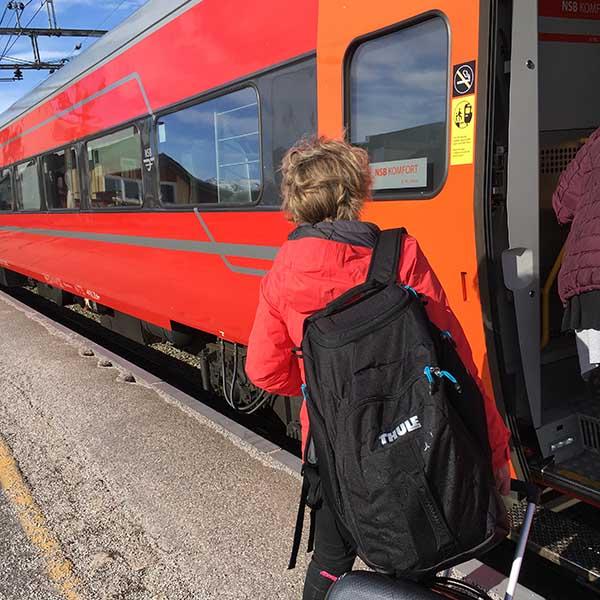 Met de trein van Oslo naar Geilo