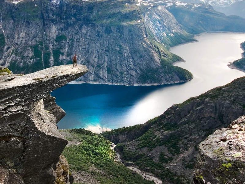 mooiste uitkijkpunten Noorwegen