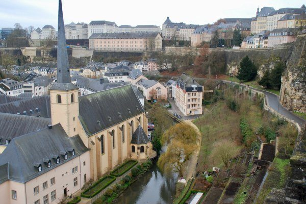Uitzicht vanaf Casemates du Bock Travelvibe