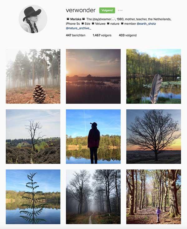 Verwonder op Instagram - Travelvibe