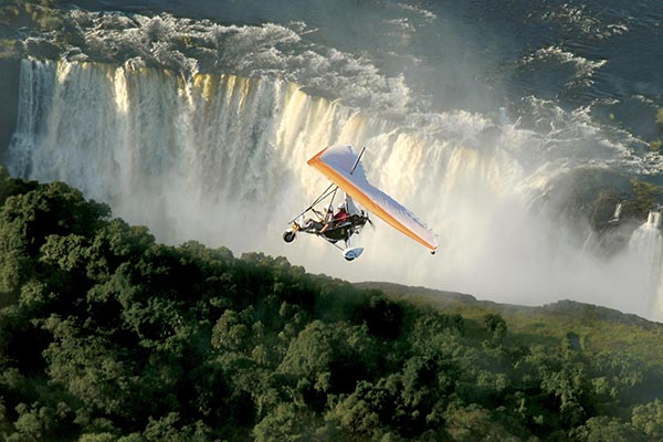 Vic Falls microlight - Travelvibe