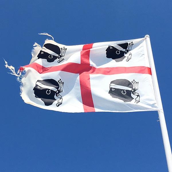 Vlag van Sardinië - Travelvibe