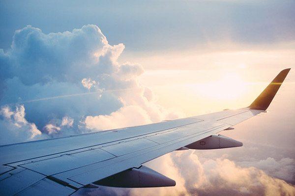Vakantiestress voor het vliegen