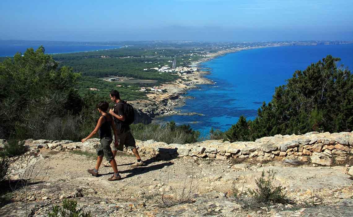Wandelen of fietsen op Formentera - Travelvibe