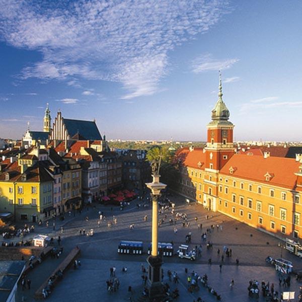 Warsaw citytrip Polen