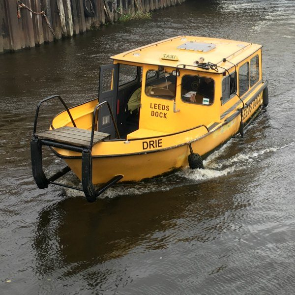 Watertaxi Leeds