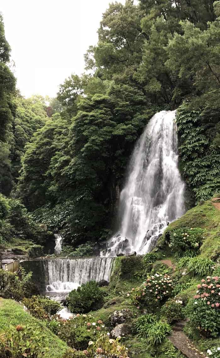 Watervallen Sao Miguel Azoren - Travelvibe