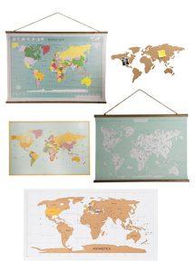 Wereldkaarten bij Xenos shoppen