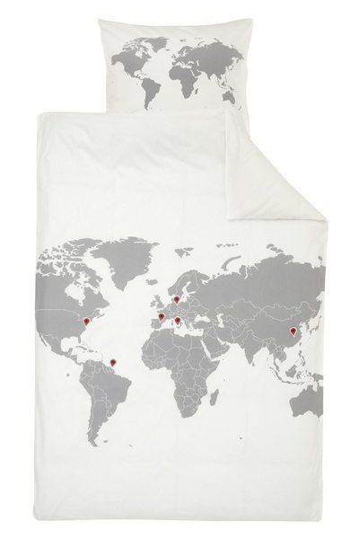 Werelds dekbed Hema - Travelvibe