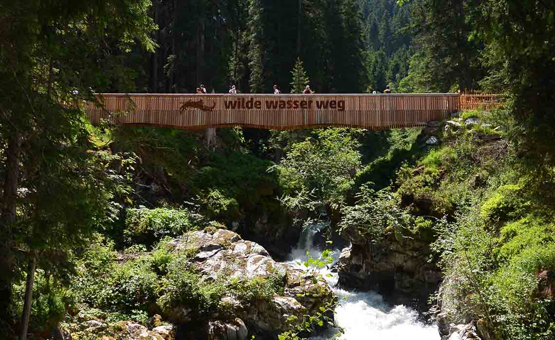 Wilde Wasser Weg Stubai - Travelvibe