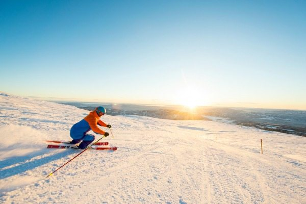 Wintersporten in Norefjell