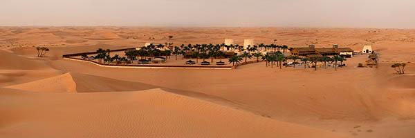 Slapen in de woestijn midden oosten
