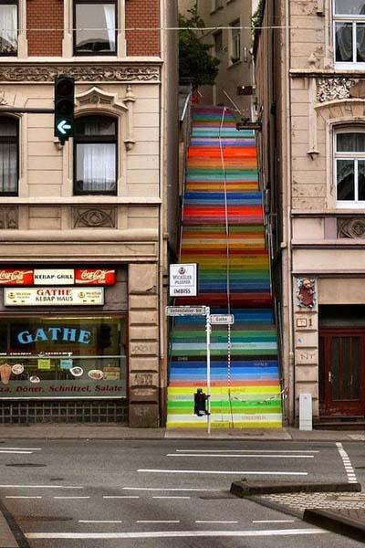 Wuppertal Duitsland trappen - Travelvibe