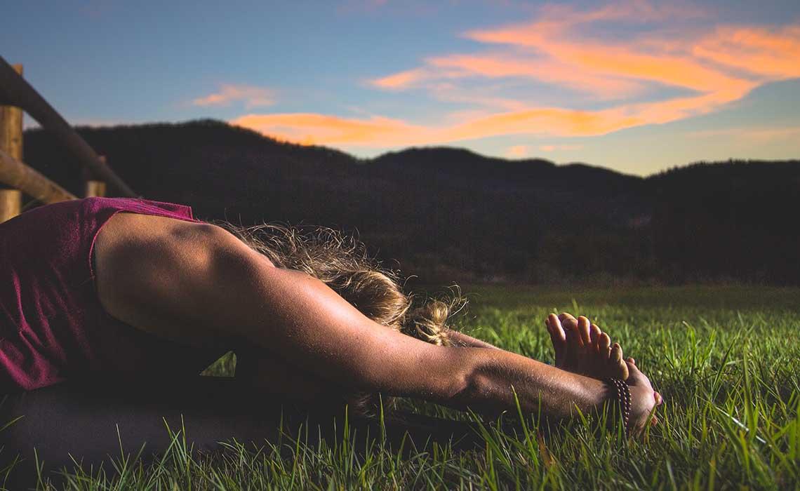 Yoga Innsbruck in de zomer - Travelvibe