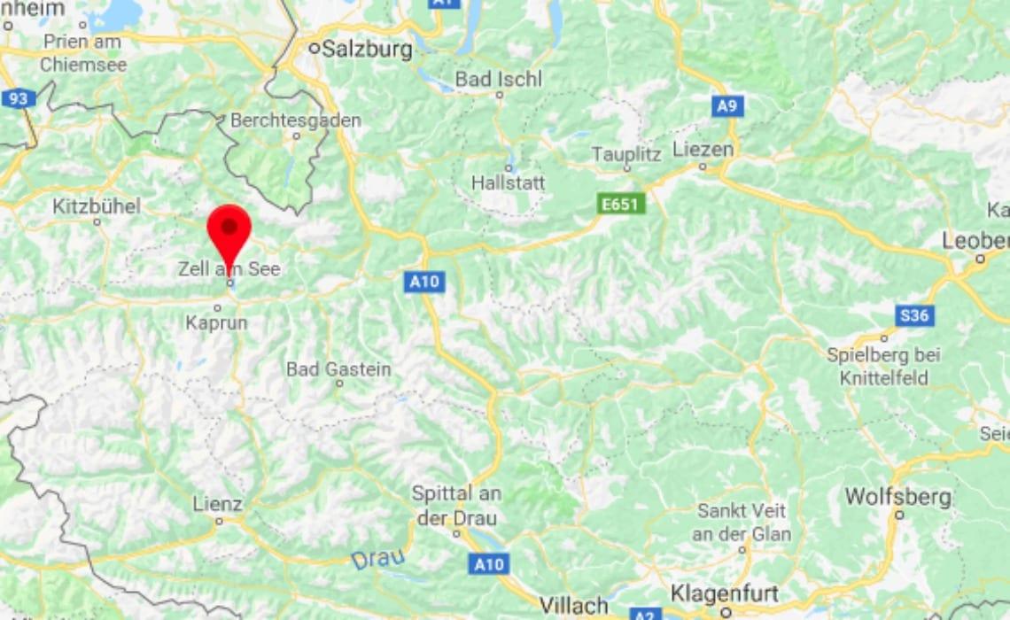 Zell am See & Kaprun kaart travelvibe