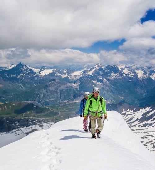 Zomervakantie Franse Alpen   Gletser   Travelvibe