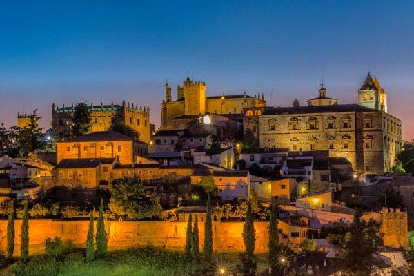 Zonsondergang Caceres Spanje | travelvibe