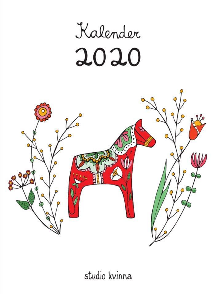 Zweden kalender Studio Kvinna - Travelvibe