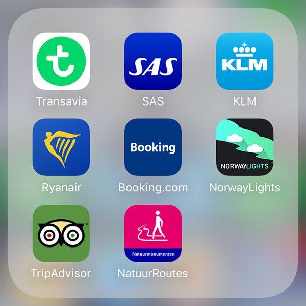 Handig! Airline apps