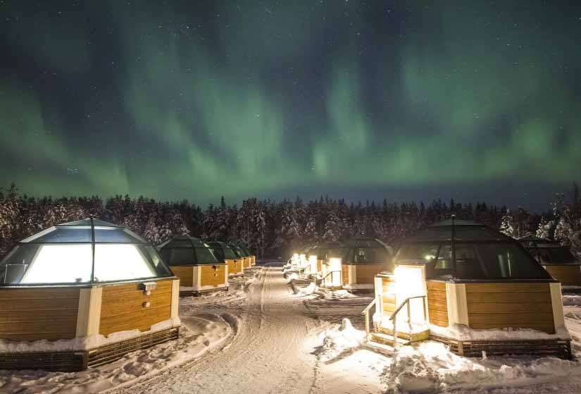 witte kerst - arctic snowhotel - travelvibe