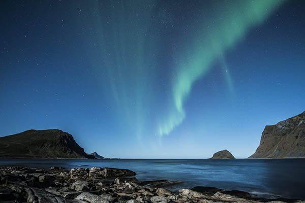 aurora borealis Lofoten - Travelvibe