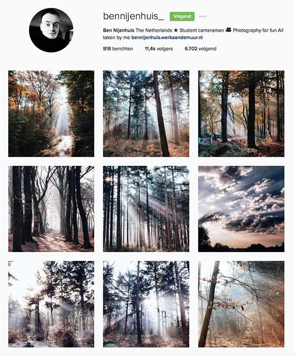 bennijenhuis op Instagram - Travelvibe