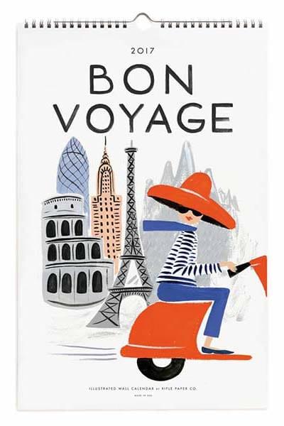 bon-voyage-calendar Rifle Paper Co