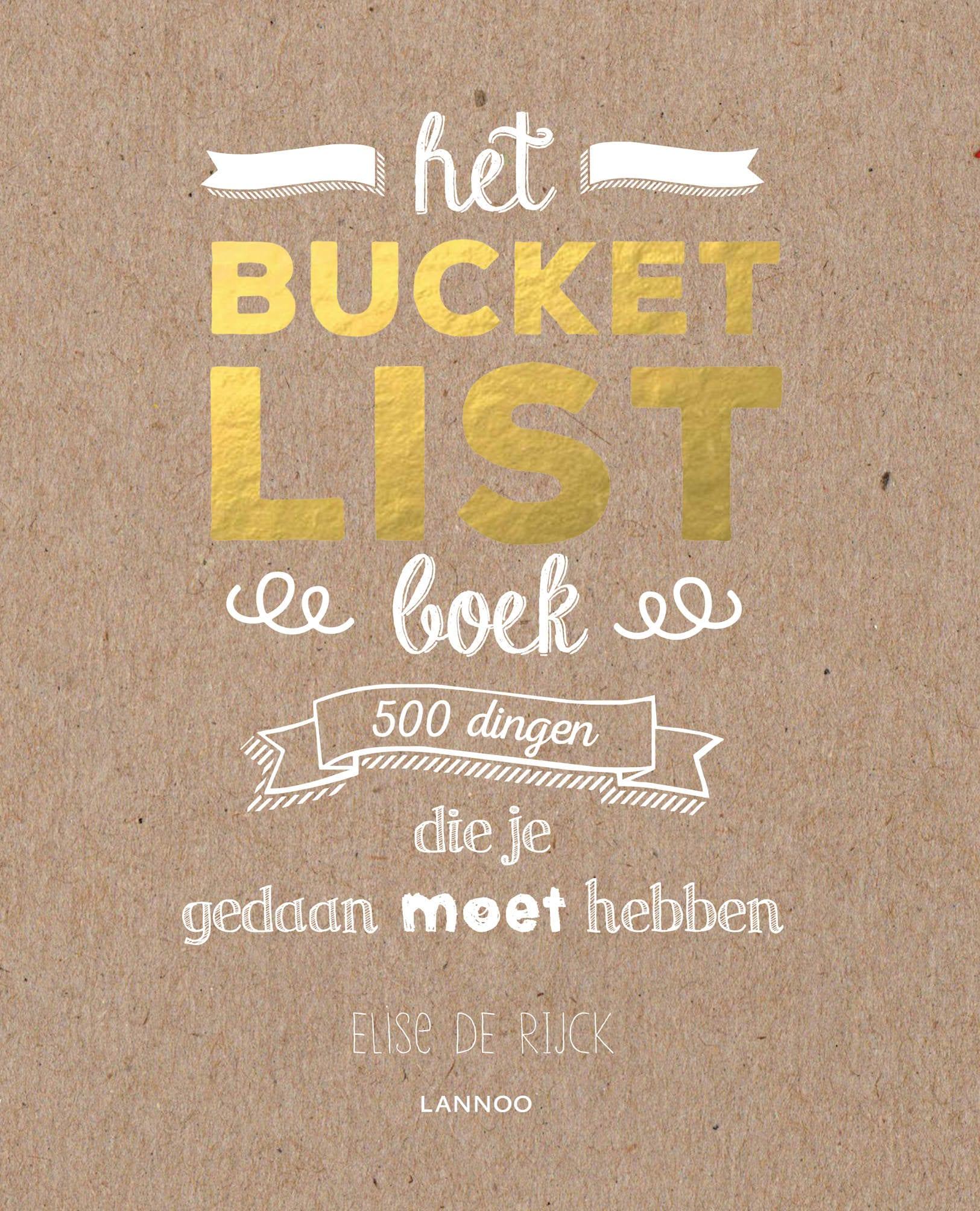 Hét Bucketlist Boek