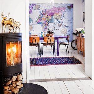 werelds interieur zitkamer