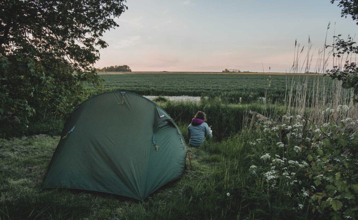 bijzondere kampeerplekken, slapen op een ecocamping