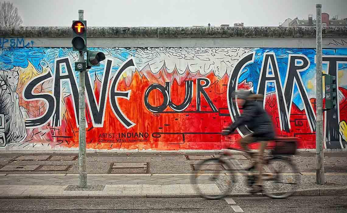 fietsen door Berlijn - Travelvibe
