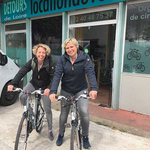 fietsen in Nantes