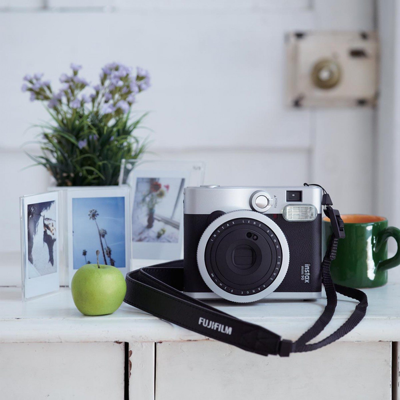 retro instant camera Fuji | Travelvibe