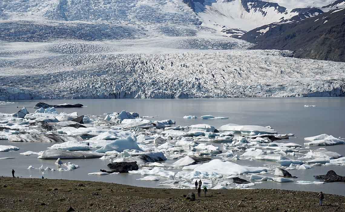 gletsjer IJsland - Travelvibe