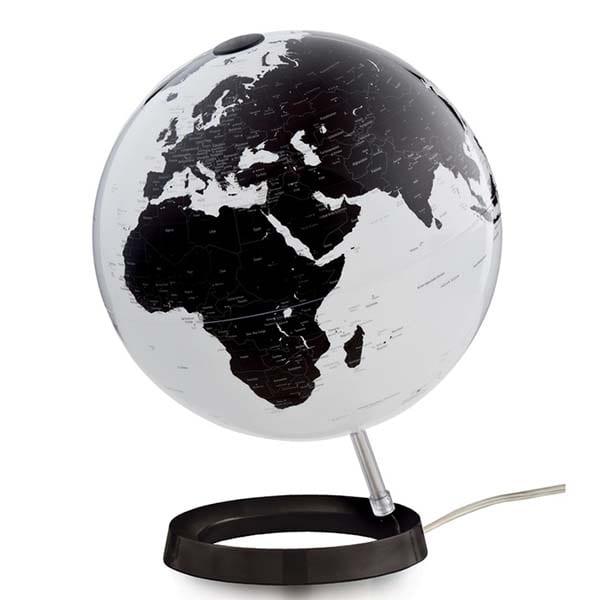 globe travelgadget zwart-wit - travelvibe