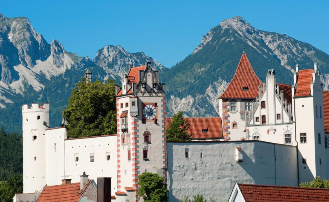 Füssen im Allgäu: slot (foto: Füssen Tourismus)