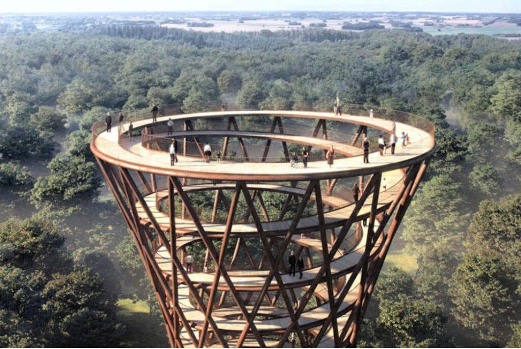uitkijktoren Denemarken