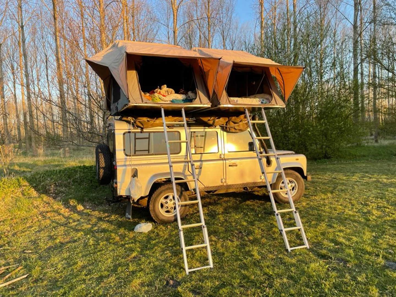 bijzondere kampeerplekken, slapen in het veld