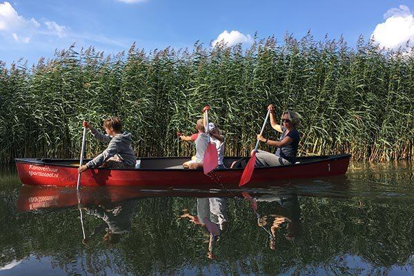 Toeristische tips Wageningen - Kano huren Wageningen - Kanotocht in Wageningen