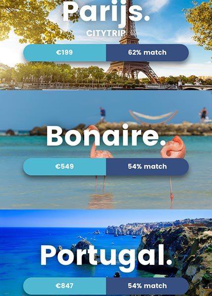 Travellr reisapp voor droomvakantie en reistips