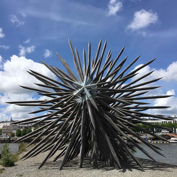 kunstwerken in Nantes