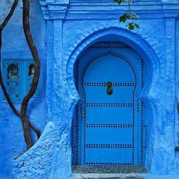 Blue monday travel hotspot Chefchaouen - Travelvibe