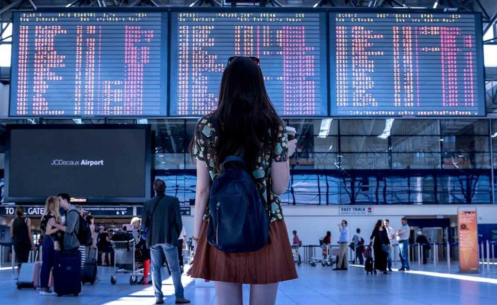 liefde in het vliegtuig - Travelvibe