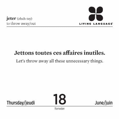 Franse taal dagelijks