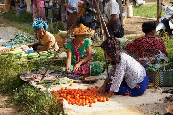 Markt Myanmar   Travelvibe