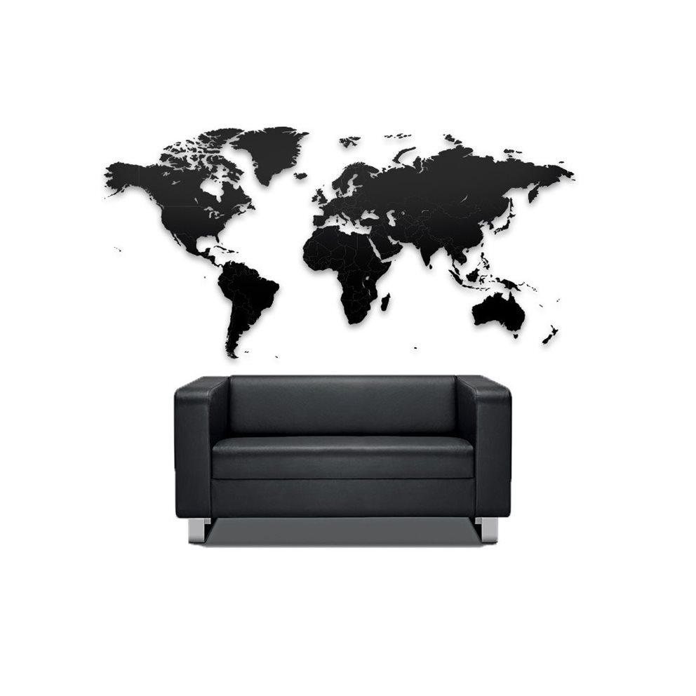 Houten wereldkaart puzzel - Travelvibe