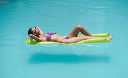 relaxed op vakantie