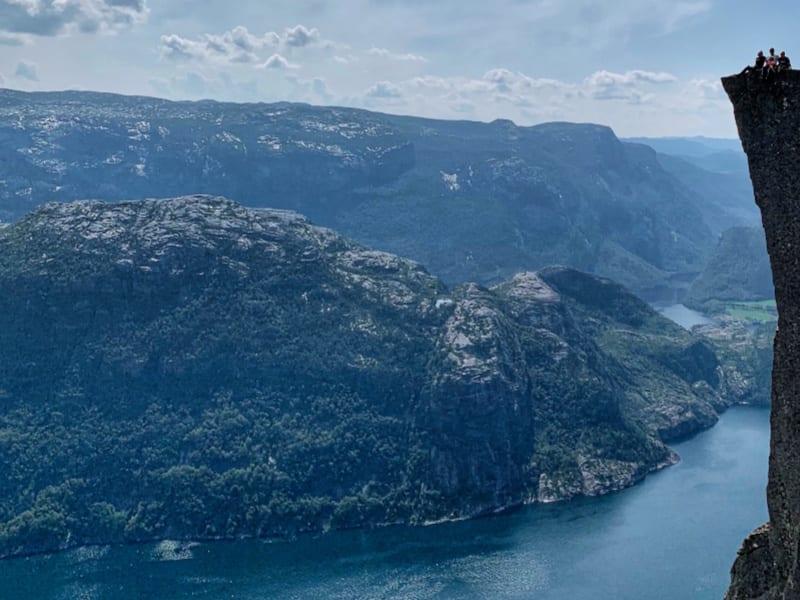 uitkijkpunten Noorwegen | preikestolen
