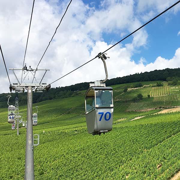 Kabelbaan van Bingen am Rhein